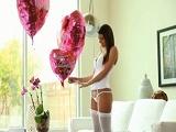 Feliz día de San Valentín cariño y polvazo para celebrarlo